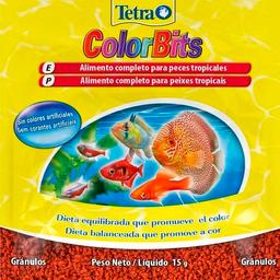 Alimento para Peixe Tetra Peixe ColorBits Granules (15g)