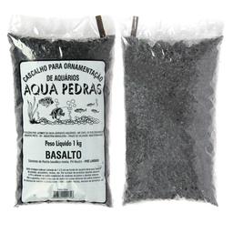 Substrato Para Aquários Aqua Pedras Basalto (Tamanho 0)