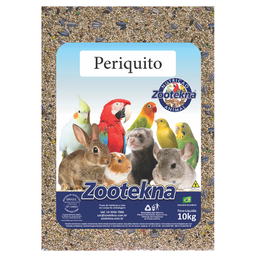 Ração Zootekna Brasileirinhos para Periquitos (10Kg)
