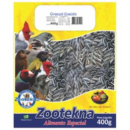 Ração Zootekna para Pássaros Girassol Graúdo (400g)
