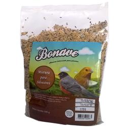 Ração Bonave Mistura de Sementes Para Pássaros Silvestres (500g)