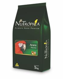 Ração Nutrópica para Arara Sabor Frutas (5Kg)