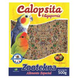 Ração Zootekna para Agapornis Mistura de Sementes (500g)