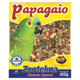 Ração Zootekna para Papagaios Mistura de Sementes (400g)