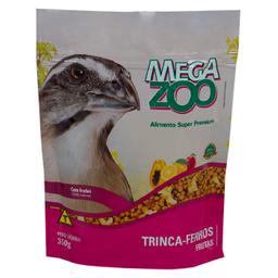 Ração Megazoo Para Trinca Ferro Frutas (350g)