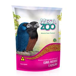 Ração Megazoo para Pássaros Curió e Bicudo (350g)