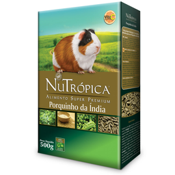 Ração Nutrópica Natural para Porquinho da Índia (500g)