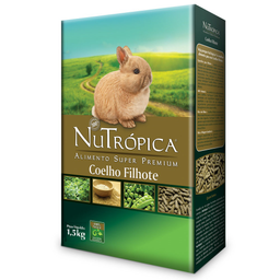 Ração Nutrópica para Coelho Filhote (1,5Kg)