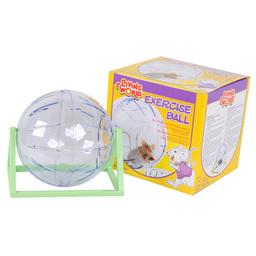 Bola de Exercício Chalesco para Hamster Transparente (Tamanho M)