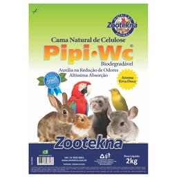 Cama Zootekna PipiPet Erva Doce Roedores (2kg)