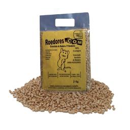 Granulado Higiênico de Madeira Cat Ecologic para Roedores (2kg)