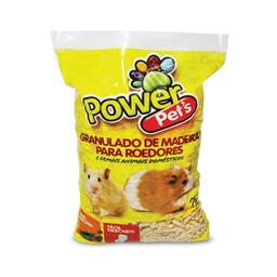 Granulado de Madeira Power Pets para Roedores (2kg)