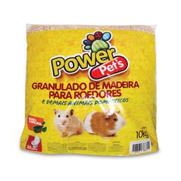 Granulado de Madeira Power Pets para Roedores (10kg)