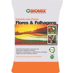 Substrato Biomix Flores & Folhagens (2Kg)