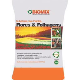 Substrato Biomix Flores & Folhagens (5kg)