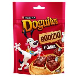 Petisco Doguitos Rodízio para Cães Adultos e Filhotes Sabor Pica