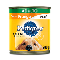 Ração Úmida Patê Pedigree Lata Vital Pro para Cães Adultos Sabor