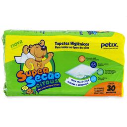 Super Secão Citrus Tapete Higiênico Petix para Cães - 30 Unidade