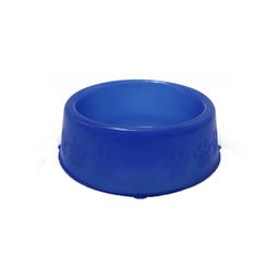 Comedouro Translúcido Prime Pet Injet para Cães Azul 1100ml