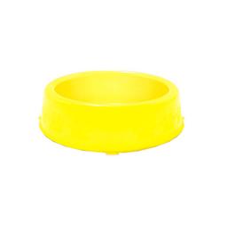 Comedouro Pet Injet para Cães Filhotes Prime Amarelo 300ml