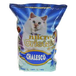 Areia Higiênica Chalesco com Micro Cristais de Sílica para Gatos