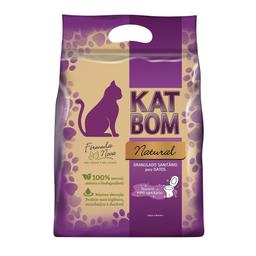 Granulado Higiênico Kat Bom Natural Para Gatos - 3kg