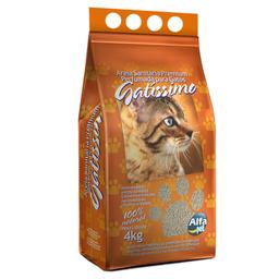Areia Higiênica Gatíssimo para Gatos Perfumada - 4kg