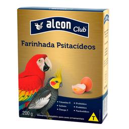 Ração Alcon Pássaros Psitacídeos Farinhada com Ovos - 200g