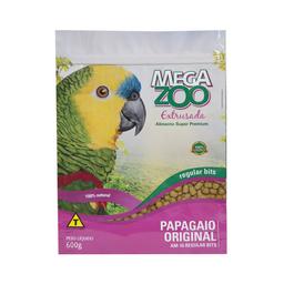 Ração Extrusada Megazoo para Papagaio Regular 600g