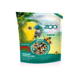 Ração Megazoo para Papagaio Tropical Mix Light 500g