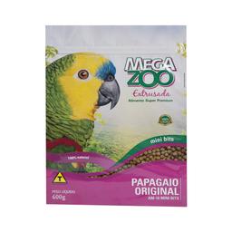 Ração Extrusada Megazoo para Papagaio Mini 600g