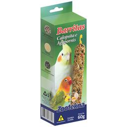 Barrita Zootekna para Calopsitas - 60g
