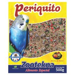 Ração Zootekna para Periquitos Mistura de Sementes - 500g