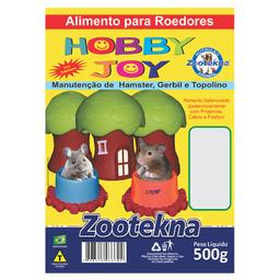 Ração Zootekna para Roedores Hobby Joy - 500g