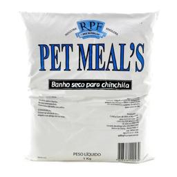 Pó Para Banho Seco Pet Meals Chinchilas