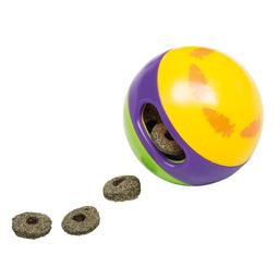 Brinquedo Ferplast Para Roedores Bola Dipenser de Alimento