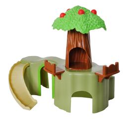 Brinquedo Ipet Toca Floresta Para Hamster