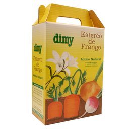 Fertilizante Dimy Orgânico Esterco de Frango