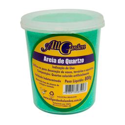 Areia Quartzo All Garden Verde Claro 800g