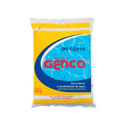 Elevador de alcalinidade Genco para Piscinas PH Certo 2kg