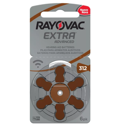 Rayovax Audiologia Tamanho 312 6 Und