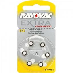 Rayovax Auditiva Tamanho 10 6 Und