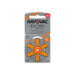 Rayovax Audvanced Tamanho 13 6 Und
