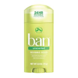 Desodorante Ban Stick Sem Perfume Com 73 g