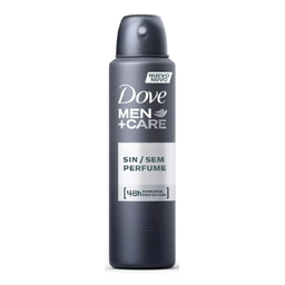 Desodorante Aerosol Dove Men Care Sem Perfume 48h 150mL