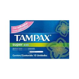 Absorvente Interno Tampax Super Com 10 Und