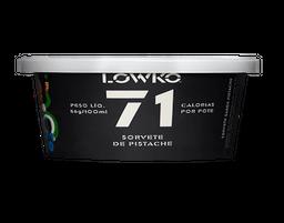 Sorvete Sem Açúcar Pistache Lowko 100 mL