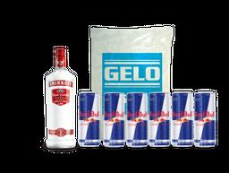 Vodka e Energético
