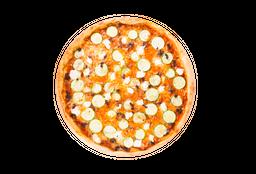 Pizza Abobrinha Com Queijo De Cabra