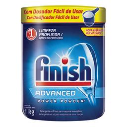 Detergente Em Pó Para Máquina De Lavar Louças Finish 1 Kg